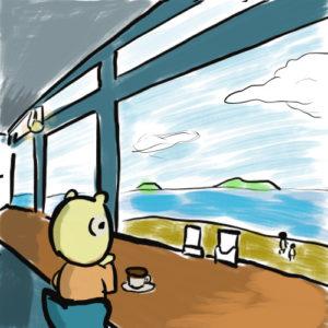 海の見えるレストラン 自分の決断