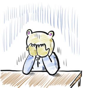 人生のどん底 熊
