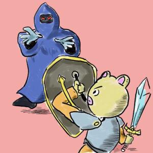 勇者と悪魔 魔道士 イラスト 剣と魔法